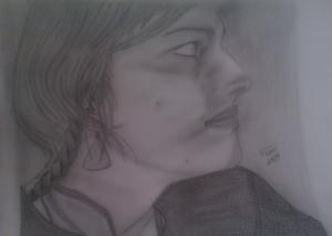 Retrato de M.J.